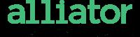 Alliator-logotyp-gron-tagline-webb